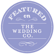 Image result for featured on the wedding co badge