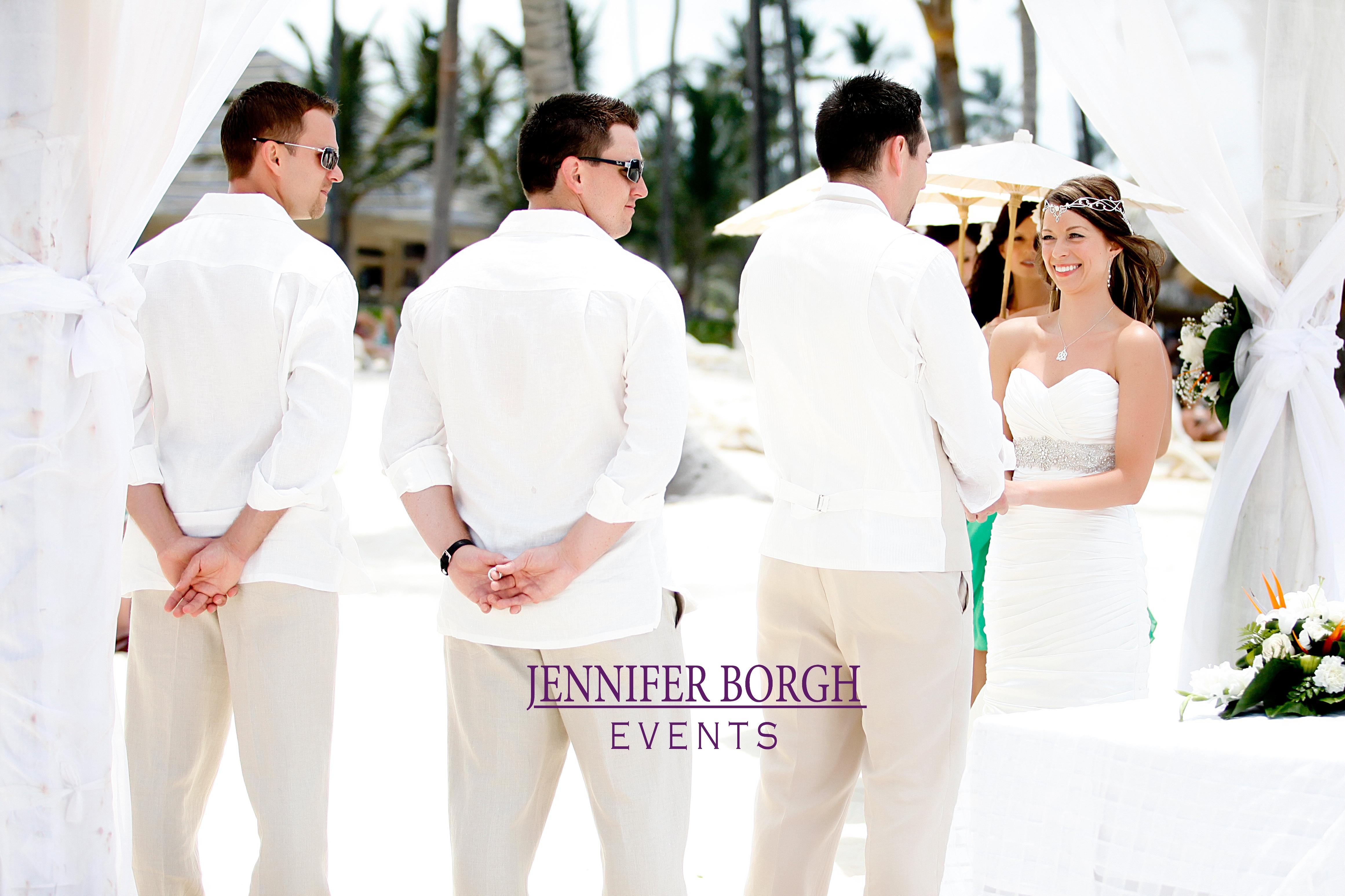 Lisa And Adams Destination Wedding In Punta Cana By Jennifer Borgh Events